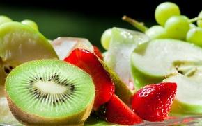 delicious, food, macro, strawberry