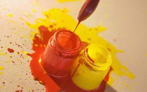 paints, macro