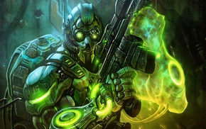 science fiction, StarCraft, ghost, Terrans