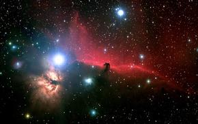 туманность, звезды, космос