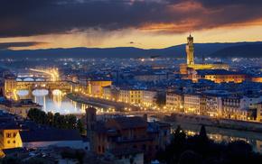 космос, звезды, туманность, Italy, cities