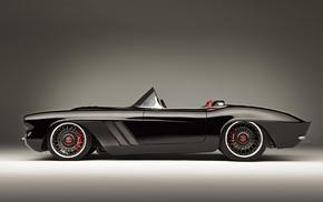 car, Corvette, Chevrolet Corvette C1