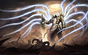Diablo III, Tyrael, video games, Diablo