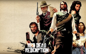 video games, John Marston, western, Rockstar Games, Red Dead Redemption