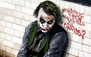 Joker, Heath Ledger, Batman, movies, The Dark Knight