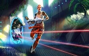 Jack, Portal 2, video games, Aperture Laboratories, turrets, Mass Effect 2