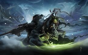 произведение искусства, StarCraft, фантастическое исскуство, воин