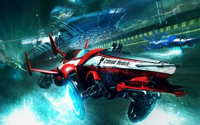 digital art, concept art, artwork, race cars, race tracks, fantasy art