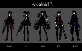 Vocaloid, Megpoid Gumi, Kaito, Meiko, Megurine Luka, Kagamine Rin