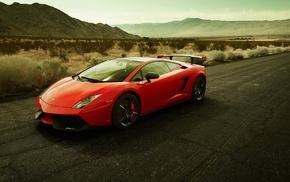 car, Lamborghini, Lamborghini Gallardo, red cars