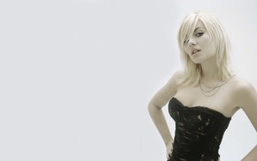 Elisha Cuthbert, black outfits, celebrity, blonde, model, actress