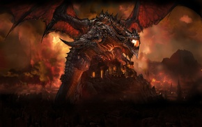 Deathwing, World of Warcraft Cataclysm, dragon