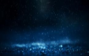 drops, rain, splash, photo, mood