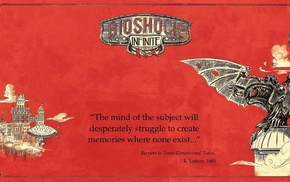 Elizabeth BioShock, Rapture, BioShock Infinite, Colombia, Songbird BioShock, BioShock