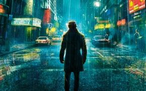 Rorschach, Watchmen, rain