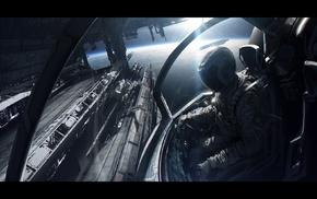 футуризм, космический корабль, космос, цифровое искусство