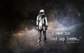 Yuri Gagarin, quote, astronaut, atheism, stars, Alex Cherry
