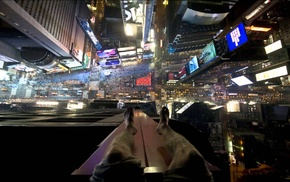 New York City, Times Square, heights, point of view