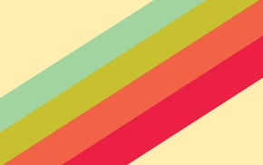 minimalism, simple, colorful, abstract, digital art, stripes