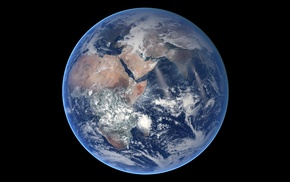 NASA, Earth, Blue Marble, planet, space