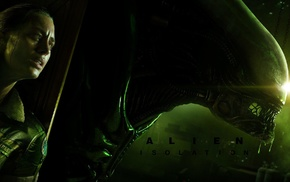 girl, Alien Isolation, Alien movie, video games, aliens, Xenomorph