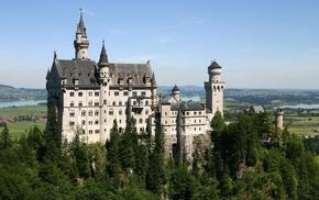 architecture, castle, nature
