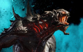 PlayStation 4, Xbox One, Evolve, video games
