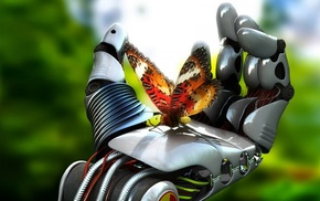3D, butterfly, fantasy art, artwork