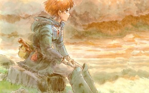 anime girls, Nausicaa of the Valley of the Wind, Nausicaa, anime, Studio Ghibli