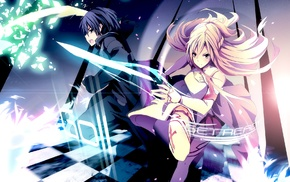 аниме, девушки из аниме, Юки Асуна, Kirigaya Kazuto