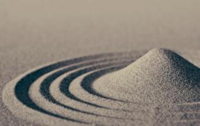 sand, ripples, macro, nature