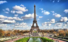 париж, Франция, эйфелева башня, города