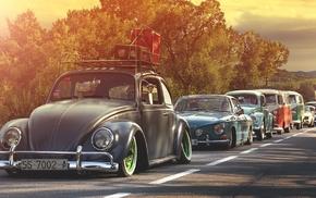 Volkswagen, oldtimers, car
