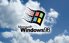 computer, vintage, 90s, Microsoft Windows, Windows 98