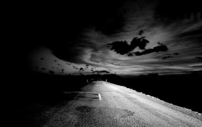 track, road, stunner, night, wallpaper