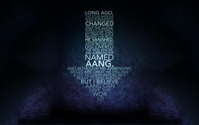 quote, Avatar The Last Airbender, typography, Aang