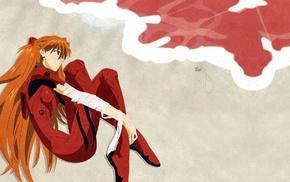 sea, anime, anime girls, Asuka Langley Soryu, Neon Genesis Evangelion