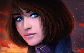 BioShock Infinite, video games, artwork, Elizabeth BioShock, BioShock, MagicnaAnavi