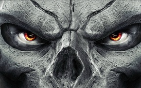 Darksiders, digital art, closeup, video games, death, creature