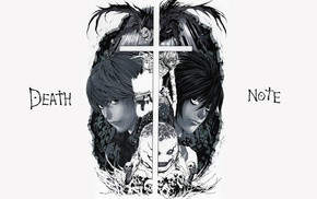 Lawliet L, Light Yagami, Death Note