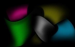colors, 3D, lines