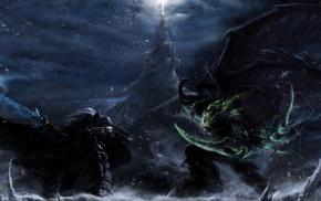 Warcraft III, Illidan, Illidan Stormrage, Arthas, World of Warcraft