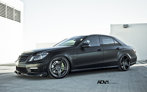 wheels, Mercedes, cars, black
