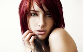 девушка, рыжие