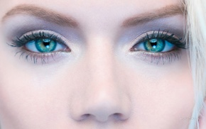 closeup, Martina Dimitrova, green eyes, face, model, Bulgaria