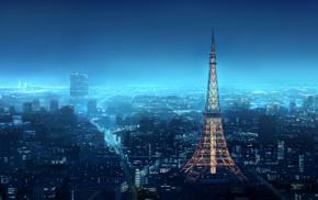 anime, Tokyo Tower, Shirosaki Otoha, Japan