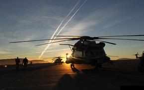 вертолеты, авиация, закат